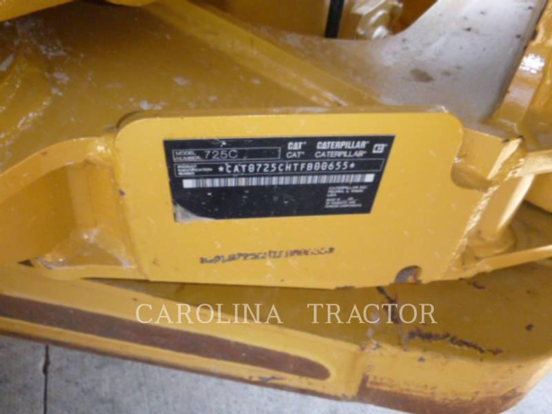 CATERPILLAR ARTICULATED TRUCKS 725C equipment  photo 13
