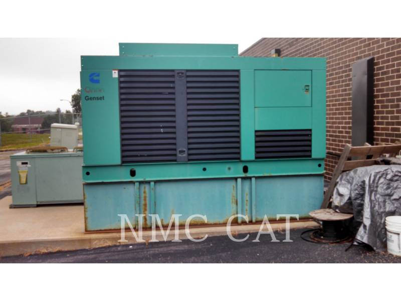 CUMMINS STATIONARY GENERATOR SETS 200DFAA equipment  photo 1