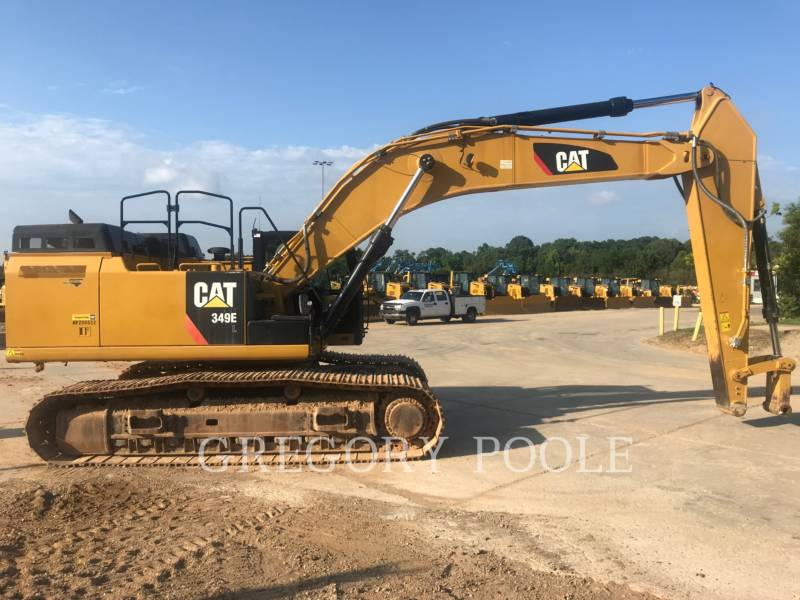 CATERPILLAR KETTEN-HYDRAULIKBAGGER 349E L equipment  photo 1
