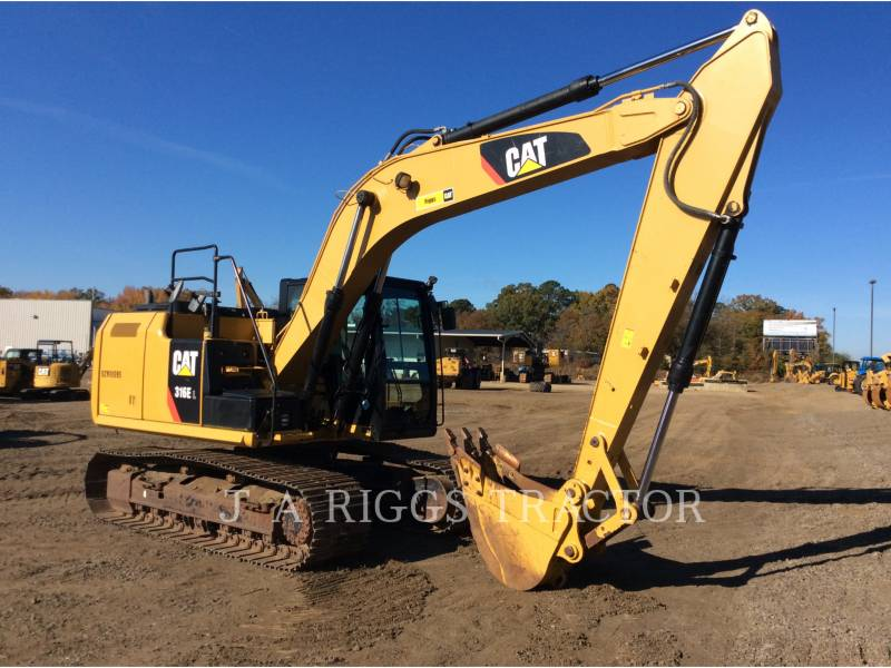 CATERPILLAR PELLES SUR CHAINES 316E 10 equipment  photo 6