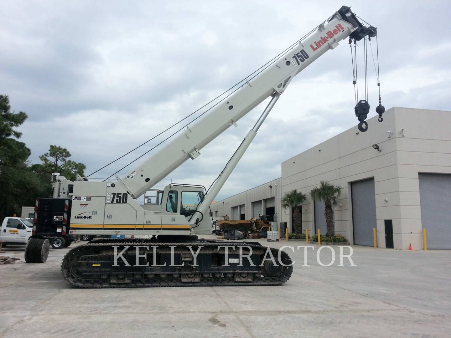 Detail photo of 2012 Link-Belt TCC-750 from Construction Equipment Guide