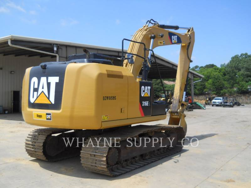 CATERPILLAR RUPSGRAAFMACHINES 316EL equipment  photo 7