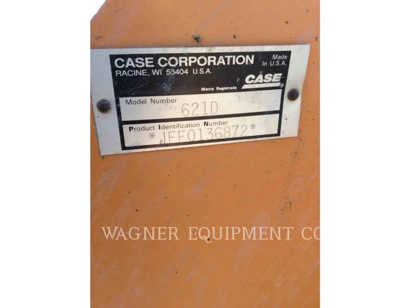 CASE CHARGEURS SUR PNEUS/CHARGEURS INDUSTRIELS 621D equipment  photo 6