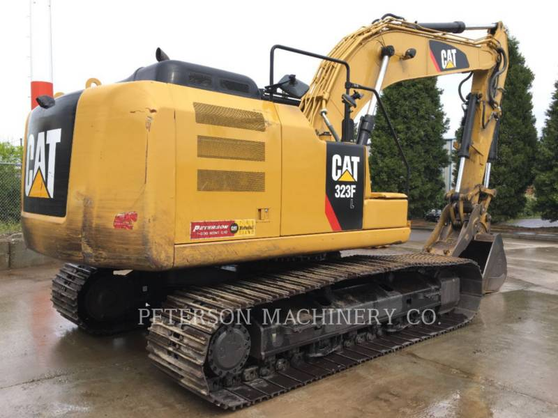 CATERPILLAR TRACK EXCAVATORS 323F equipment  photo 5