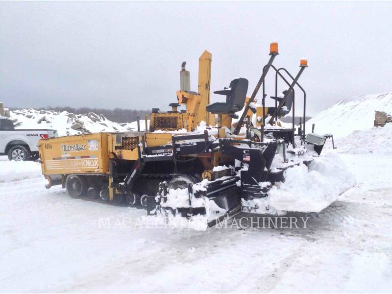 BLAW KNOX / INGERSOLL-RAND ASPHALT PAVERS PF5510 equipment  photo 2