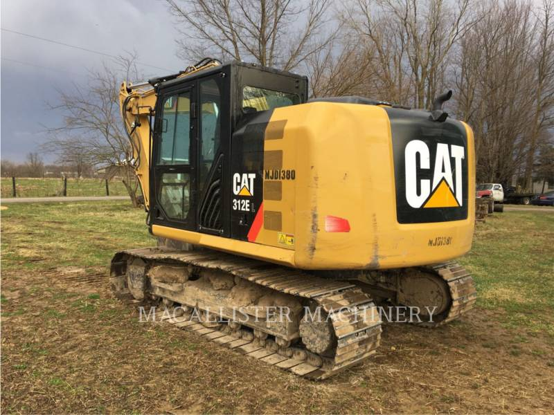 CATERPILLAR PELLES SUR CHAINES 312E equipment  photo 4