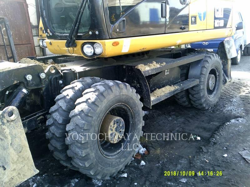 Caterpillar EXCAVATOARE PE ROŢI M318D equipment  photo 7