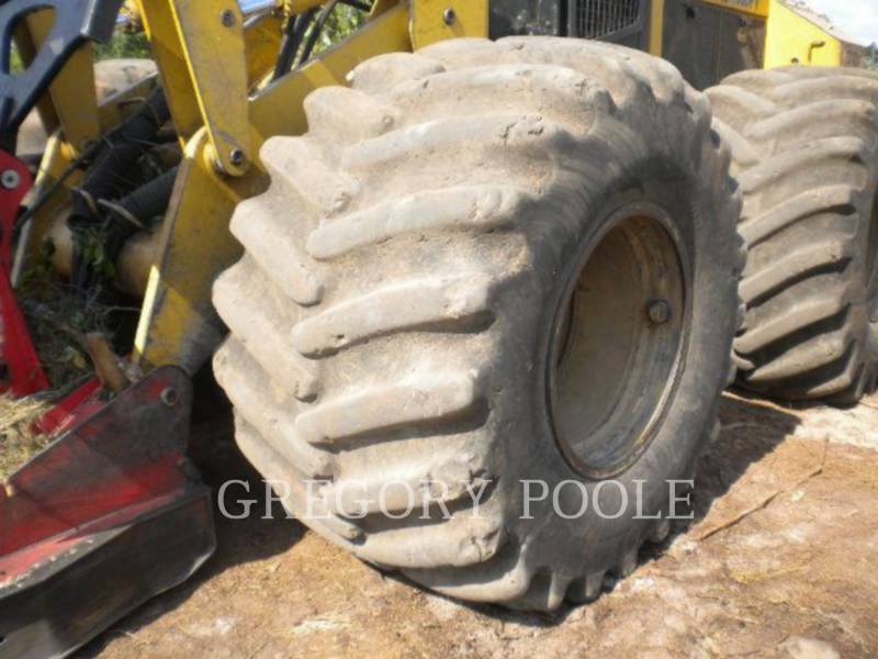 CATERPILLAR FORESTRY - FELLER BUNCHERS - WHEEL 573 equipment  photo 32