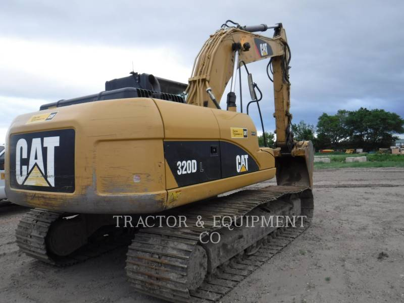 CATERPILLAR EXCAVADORAS DE CADENAS 320D L equipment  photo 3