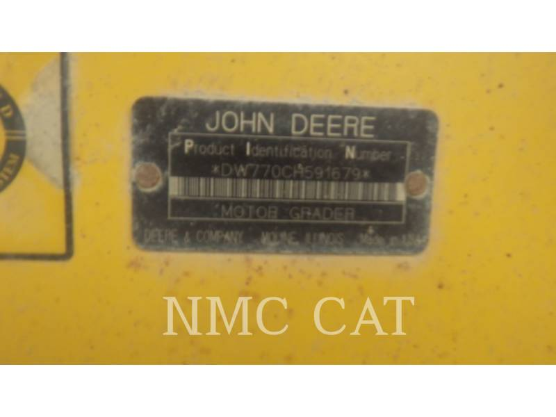 JOHN DEERE MOTOR GRADERS 770CH_JD equipment  photo 6
