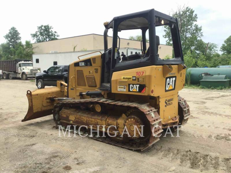 CATERPILLAR TRATTORI CINGOLATI D3K2XL equipment  photo 2