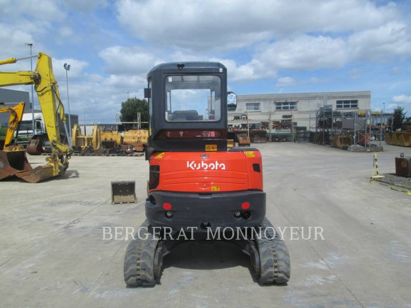 KUBOTA TRACTOR CORPORATION TRACK EXCAVATORS U35 equipment  photo 4