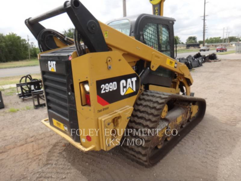 CATERPILLAR CHARGEURS COMPACTS RIGIDES 299DSTD2CA equipment  photo 4