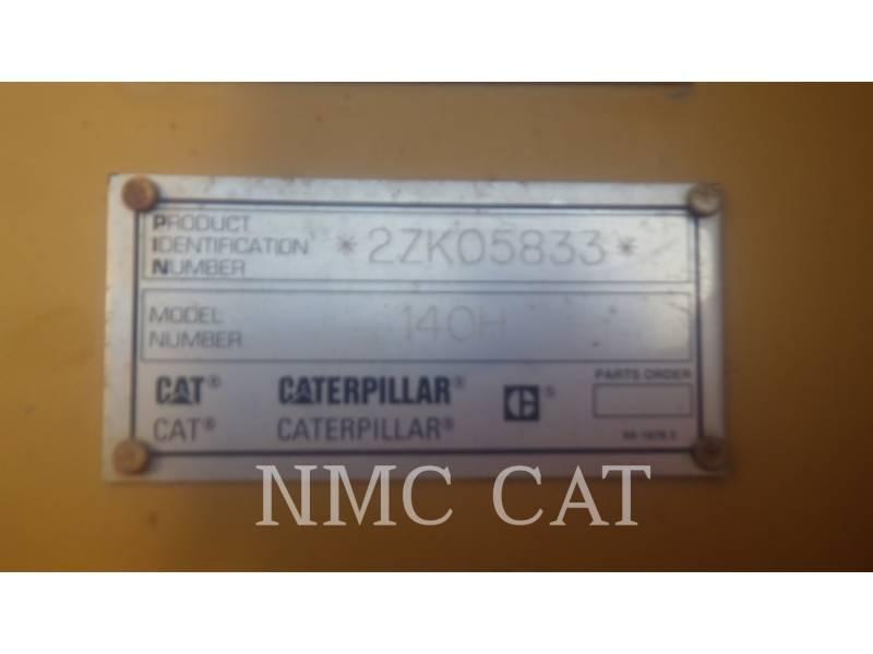 CATERPILLAR モータグレーダ 140H equipment  photo 6