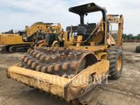 Equipment photo CATERPILLAR CP-563E VIBRATORY SINGLE DRUM PAD 1