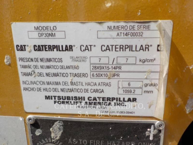 CATERPILLAR FORKLIFTS DP30NM equipment  photo 24