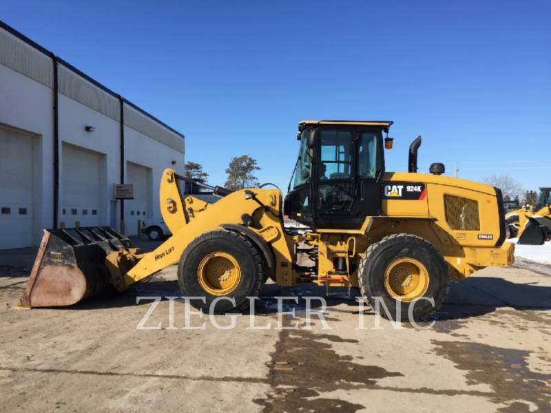 CATERPILLAR WHEEL LOADERS/INTEGRATED TOOLCARRIERS 924KHL equipment  photo 4