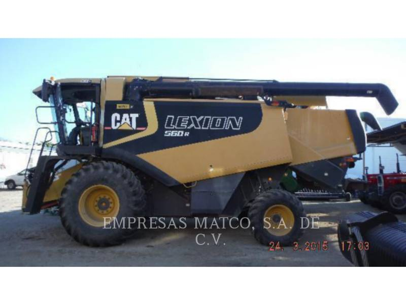 LEXION COMBINE COMBINADOS 560R equipment  photo 1