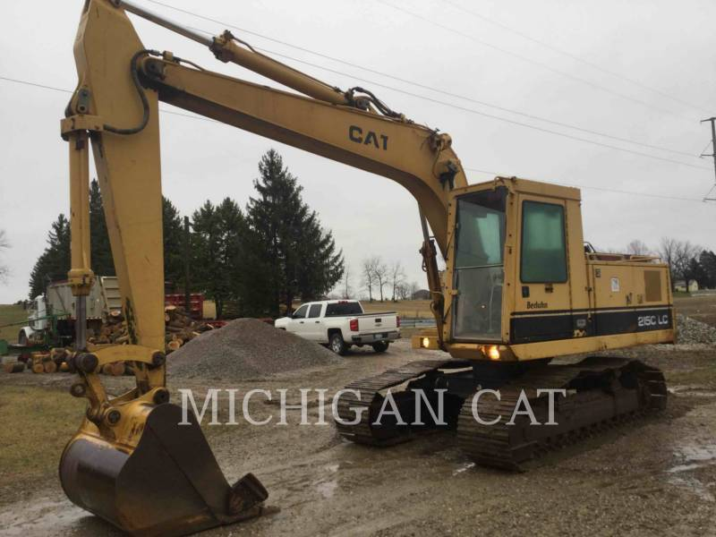 CATERPILLAR TRACK EXCAVATORS 215C LC equipment  photo 1