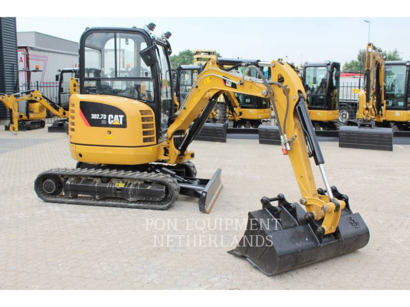 CATERPILLAR KETTEN-HYDRAULIKBAGGER 302.7 D CR equipment  photo 21