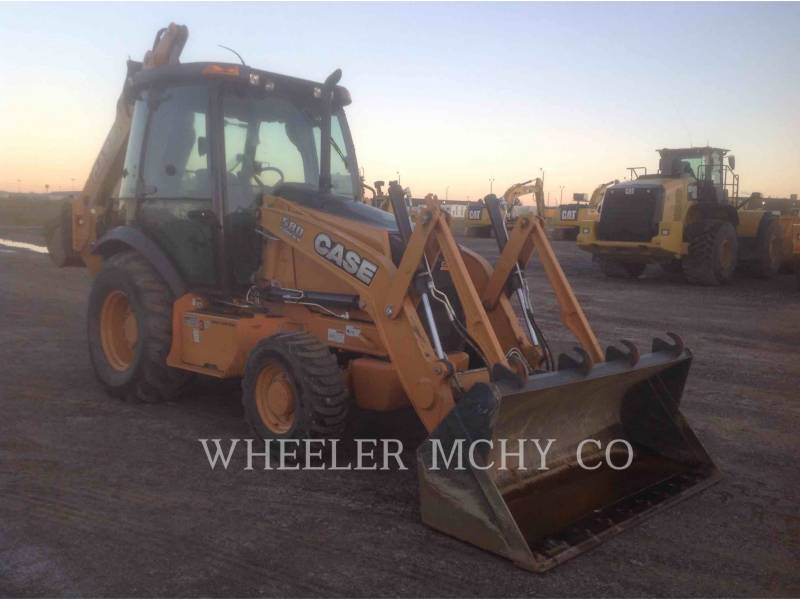 CASE BACKHOE LOADERS 580SN equipment  photo 1