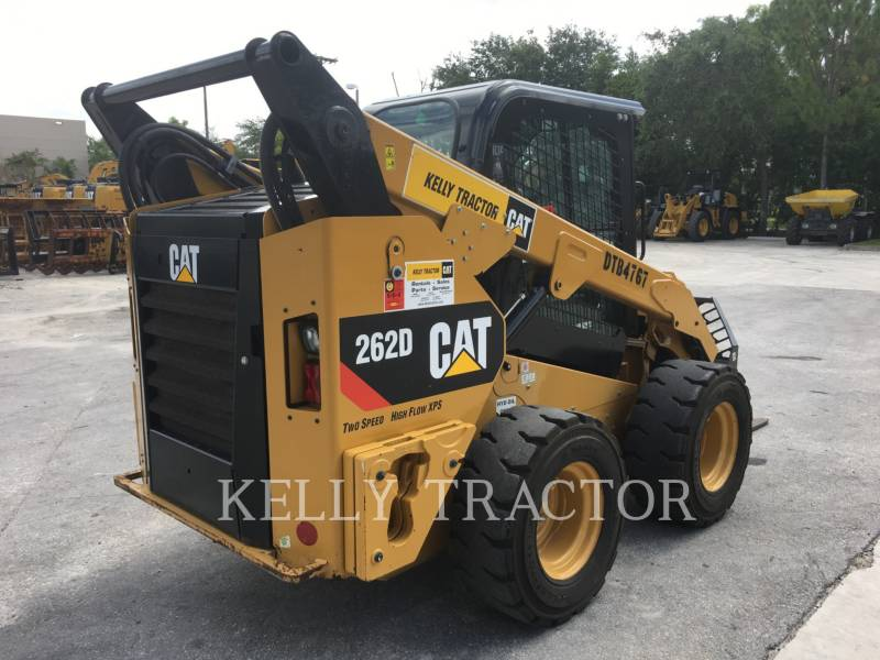 CATERPILLAR MINICARGADORAS 262 D equipment  photo 3