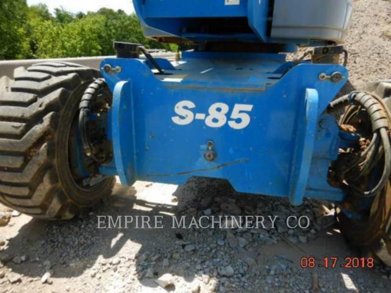 GENIE INDUSTRIES OVERIGE S-85 equipment  photo 2