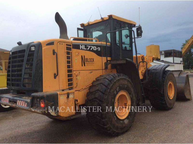 HYUNDAI WHEEL LOADERS/INTEGRATED TOOLCARRIERS HL770-9 equipment  photo 4
