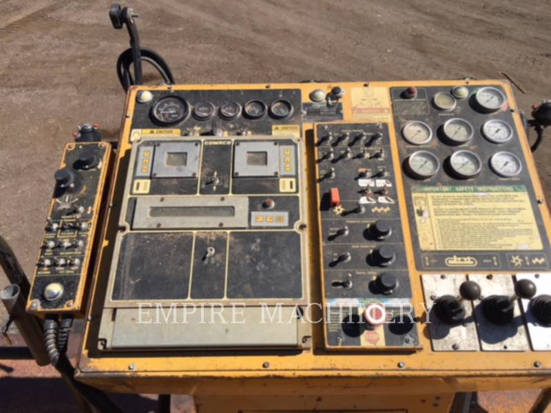 GOMACO ASPHALT PAVERS 9500 equipment  photo 5
