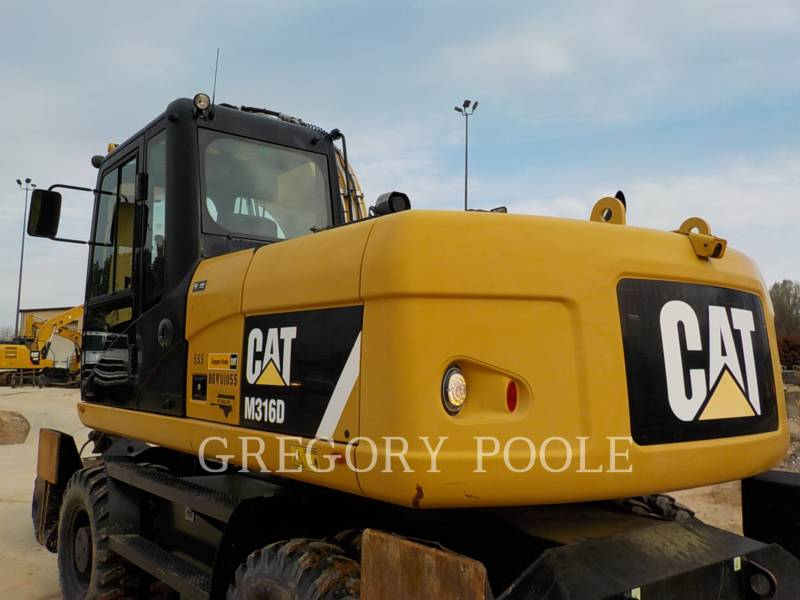 CATERPILLAR PELLES SUR PNEUS M316D equipment  photo 8