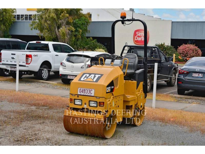 CATERPILLAR TANDEMOWY WALEC WIBRACYJNY DO ASFALTU (STAL-STAL) CB14 equipment  photo 3