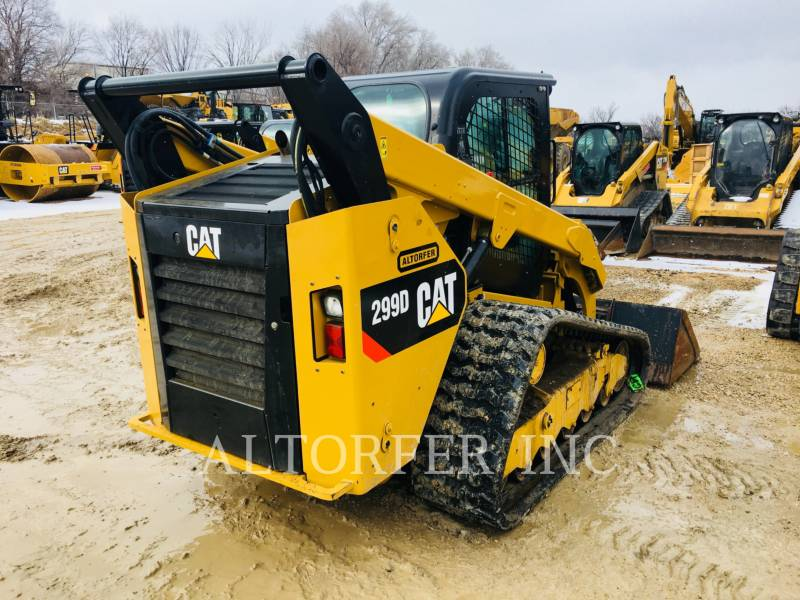 CATERPILLAR SKID STEER LOADERS 299D equipment  photo 3