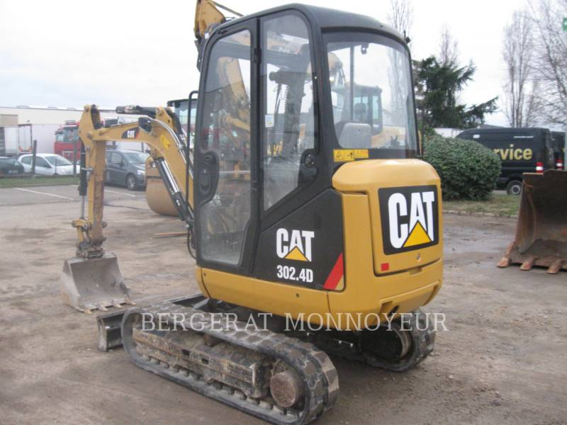 CATERPILLAR KETTEN-HYDRAULIKBAGGER 302.4D equipment  photo 5