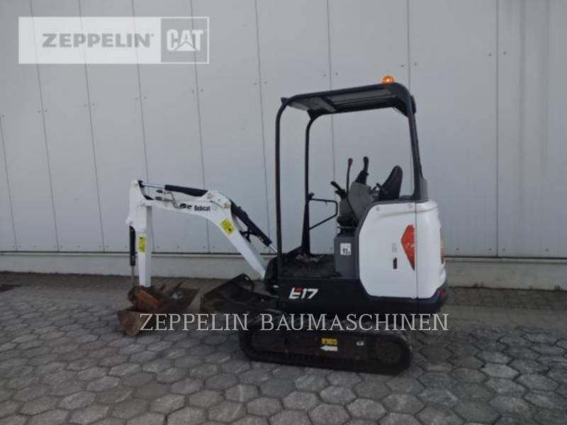 BOBCAT TRACK EXCAVATORS E17 equipment  photo 4