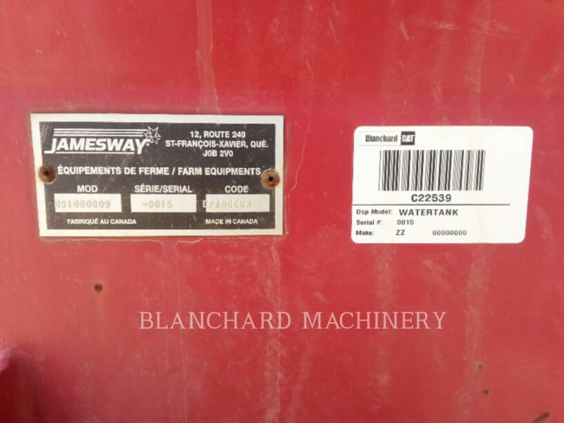 MISCELLANEOUS MFGRS PULVERIZADOR WATERTANK equipment  photo 5
