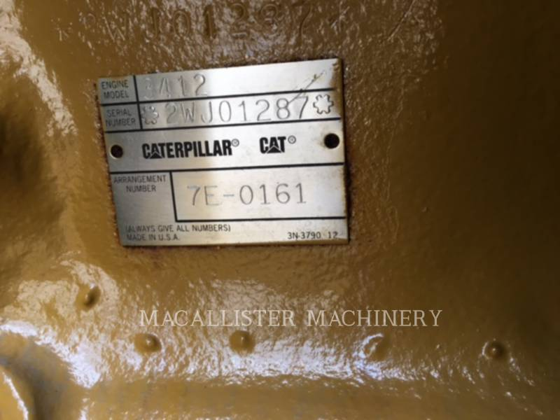 CATERPILLAR STATIONARY GENERATOR SETS 3412 equipment  photo 8