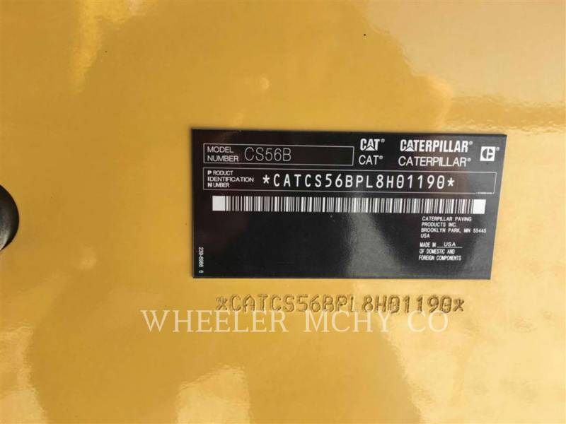 CATERPILLAR COMPACTADORES DE SUELOS CS56B equipment  photo 7