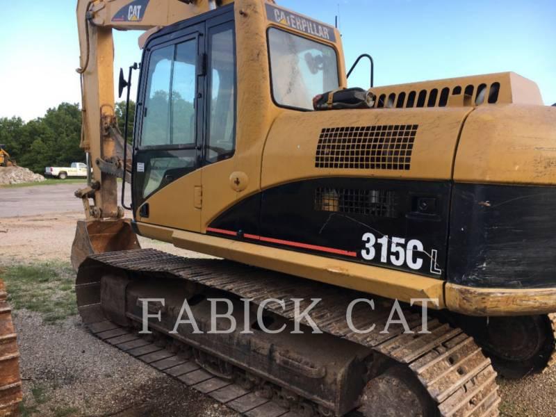 CATERPILLAR TRACK EXCAVATORS 315CL equipment  photo 2