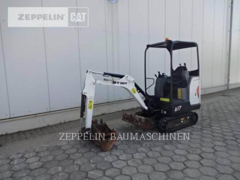 BOBCAT KETTEN-HYDRAULIKBAGGER E17 equipment  photo 1