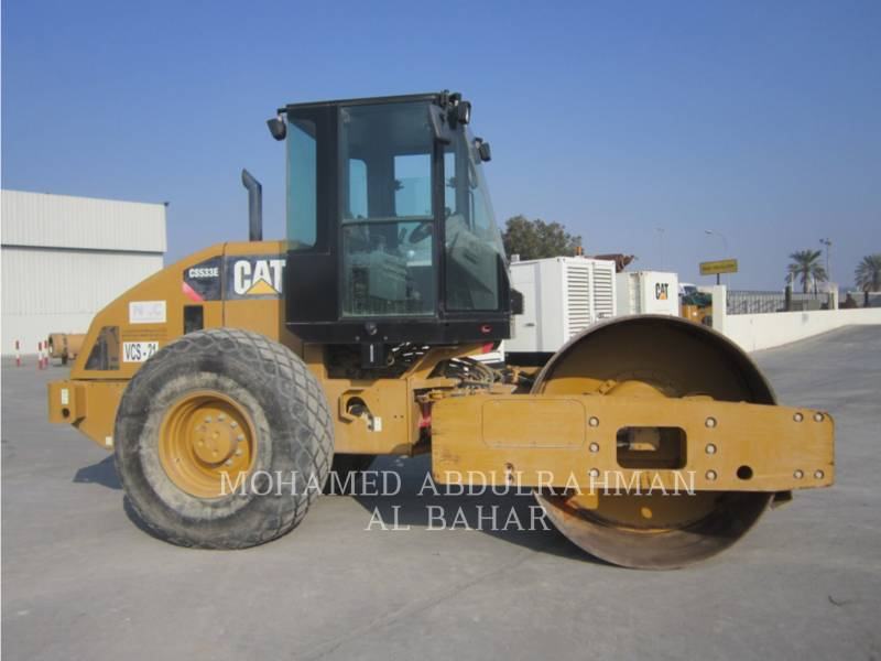 CATERPILLAR VIBRATORY SINGLE DRUM SMOOTH CS 533 E equipment  photo 6