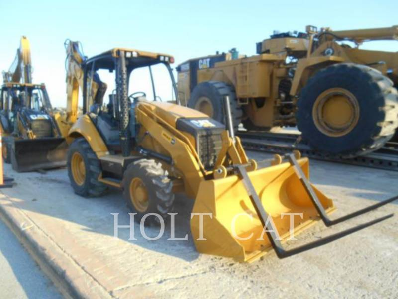 CATERPILLAR BACKHOE LOADERS 420F 4SX equipment  photo 1