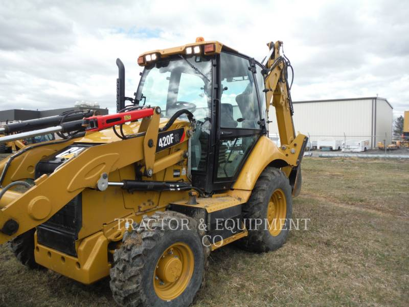 CATERPILLAR CHARGEUSES-PELLETEUSES 420F 4ETCB equipment  photo 1