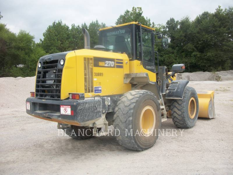 KOMATSU CARGADORES DE RUEDAS WA270 equipment  photo 3