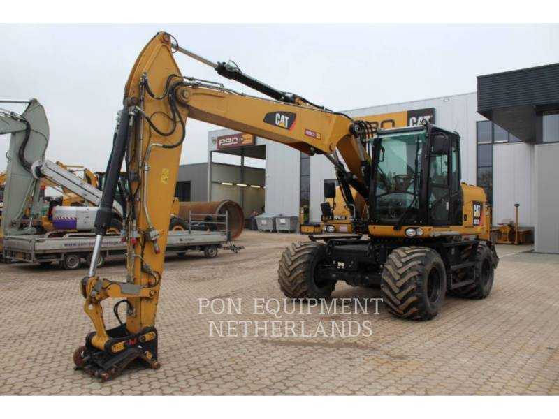 CATERPILLAR WHEEL EXCAVATORS M313 D equipment  photo 1
