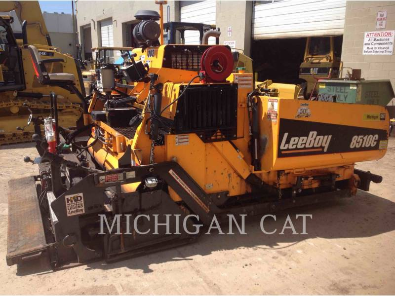 LEE-BOY ASPHALT PAVERS 8510 equipment  photo 5