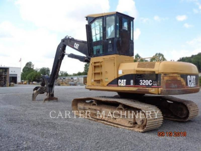 CATERPILLAR KETTEN-HYDRAULIKBAGGER 320CFMHW equipment  photo 2