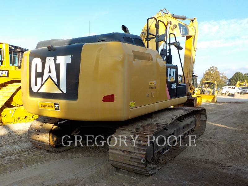 CATERPILLAR KETTEN-HYDRAULIKBAGGER 329EL equipment  photo 10
