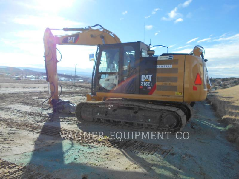 CATERPILLAR EXCAVADORAS DE CADENAS 316EL HMR equipment  photo 4
