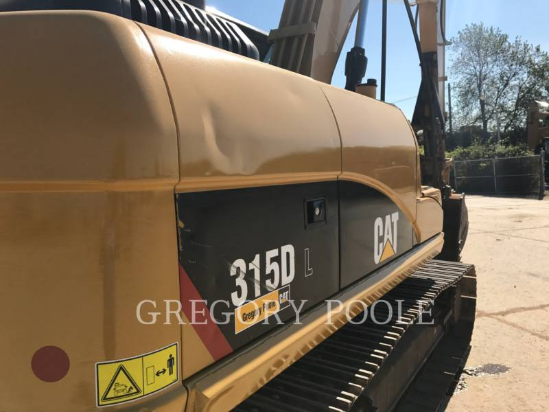 CATERPILLAR TRACK EXCAVATORS 315D L equipment  photo 10