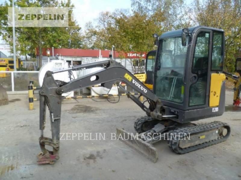 VOLVO CONSTRUCTION EQUIPMENT ESCAVADEIRAS EC20D equipment  photo 1